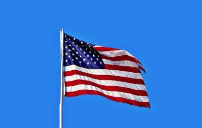 American Regional Accent-American Flag
