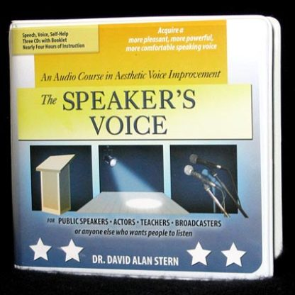 Improve your speaking voice -packaging