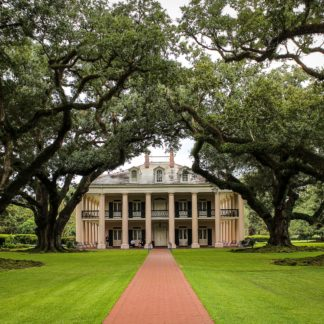 American Southern Plantation Mansion