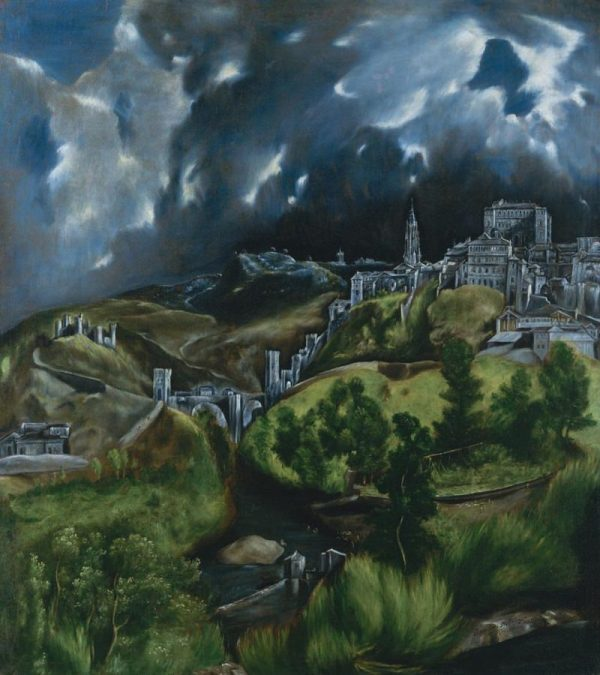 Spanish View of Toledo by El Greco