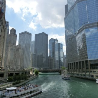 Chicago Skyline-River View