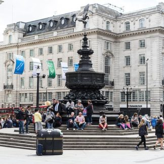 Cockney Neighborhood, London's Trafalgar Square