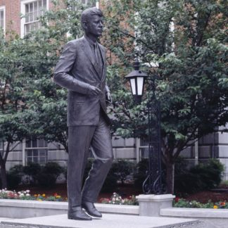 J.F. Kennedy Statue in Boston