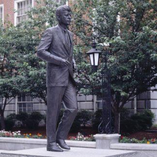J.F. Kennedy Statue in Boston