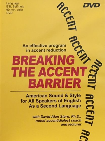 Foreign-Language Accent Reduction-video