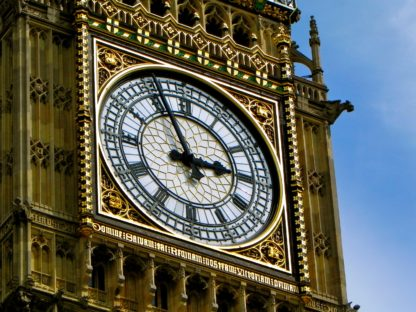 Learn British Isles Accents-Westminster Clock