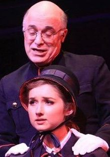 DAS with Sarah Schenkkan in Guys and Dolls, CT Rep Theatre. (Photo: Gerry Goodstein)